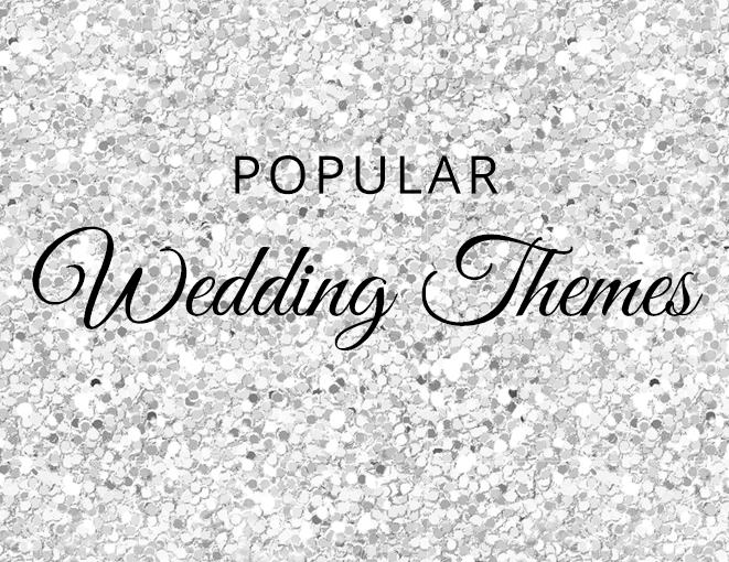 Popular Wedding Themes Wedding Advice Cards